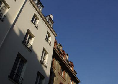Le long de la rue Dauphine, entre la rue Christine et le Pont Neuf par Julien Barret-16
