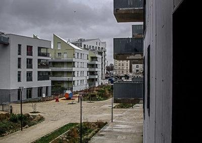 Nouveaux immeubles, Saint-Denis par Julien Barret