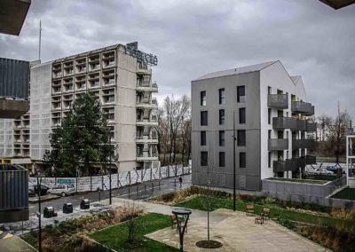 nouveau quartier derrière le 6B à Saint-Denis par Julien Barret