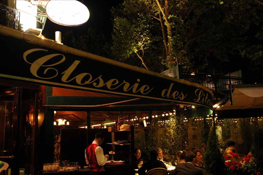 ©Closerie des Lilas-facade