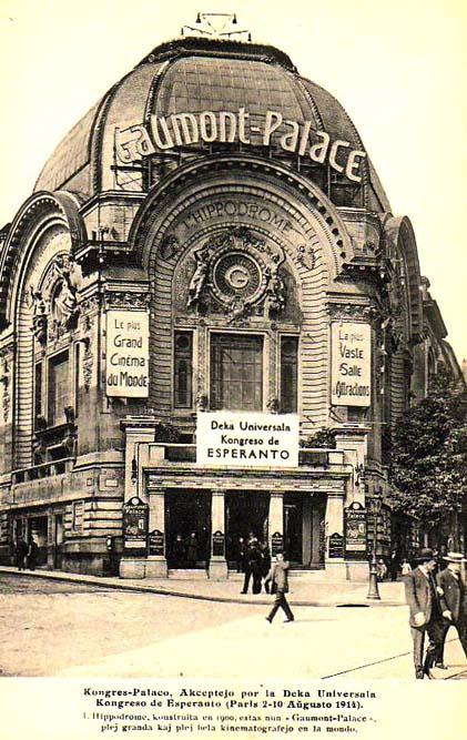 Le Gaumont Palace, 1 rue Caulaincourt, photographié en 1914, Domaine public
