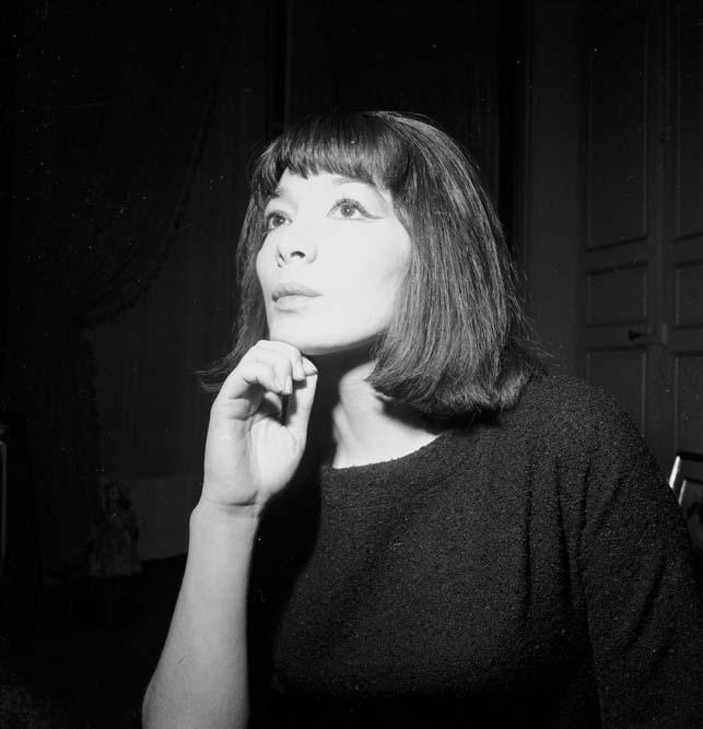 Juliette Greco, Paris 1962 © Roger-Viollet