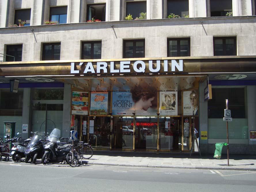 L'Arlequin, rue de Rennes @LPLT Wikimedia Commons