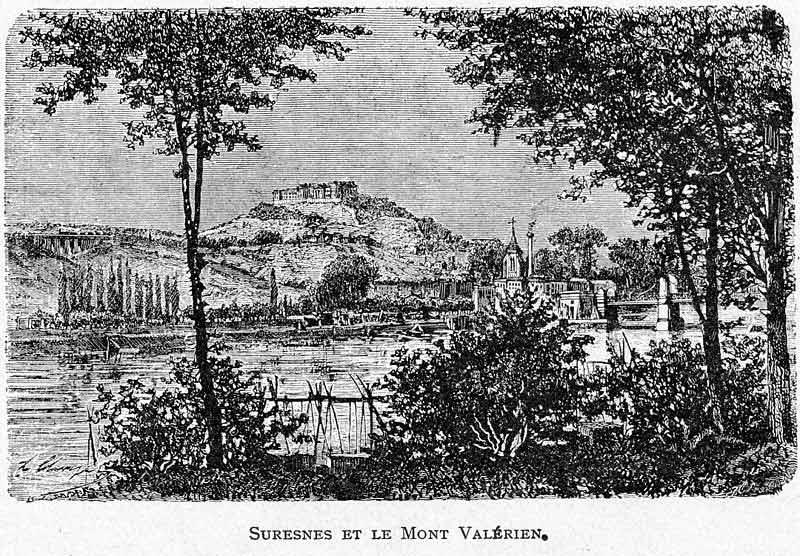 Autour du Mont Valérien, sur les hauteurs de Suresnes