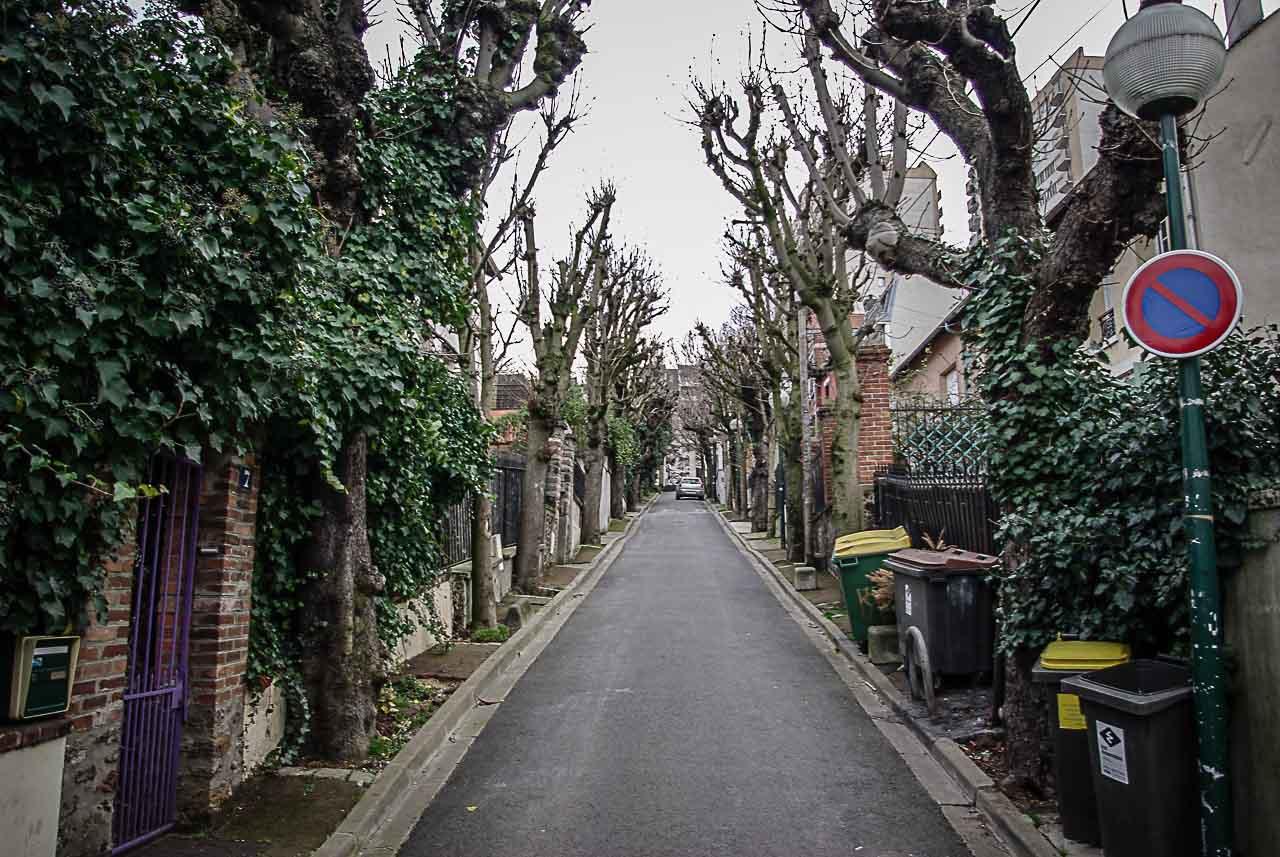 avenue des marronniers, dans la villa du Pré, par Julien Barret