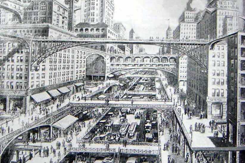 La Ville future - City of the Future @ H-W Corbett 1913