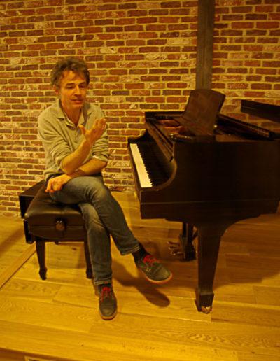 Guillaume Cornut au bal Blomet par Julien Barret
