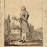 Jean-Jacques Rousseau herborisant à Ermenonville par Meyer