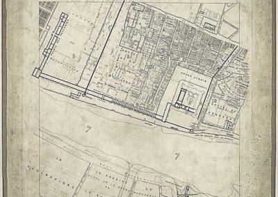 Histoire topographique et arch+®ologique de l'ancien Paris] _ feuille 3 par Albert Lenoir et Adolphe Berty ; E. Sulpis sculps @Gallica