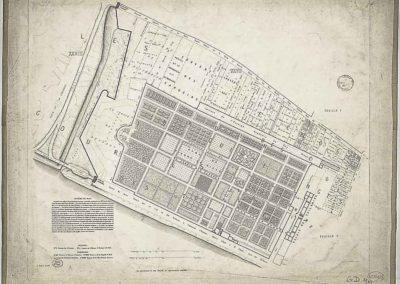 Histoire topographique et arch+®ologique de l'ancien Paris _ feuille 7 par Albert Lenoir et Adolphe Berty ; E. Sulpis sculps @Gallica