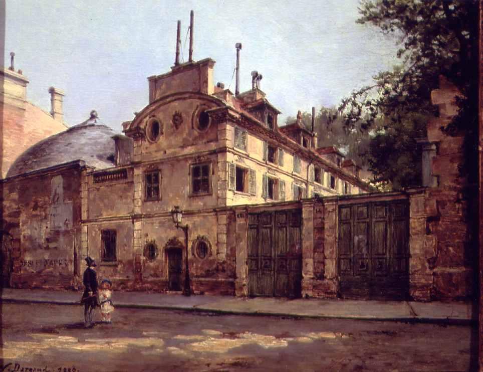 Maison de Balzac, rue Fortunée par Paul-Joseph-Victor Dargaud