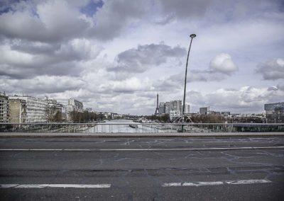 pont du Garigliano vue nord est ©J Barret