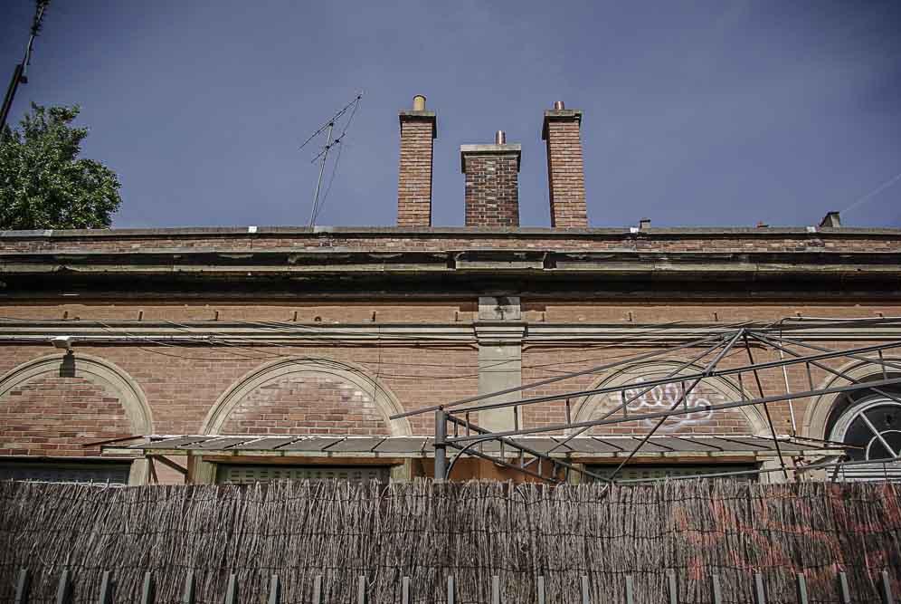 façade sur la PC de la gare de Vaugirard par J Barret