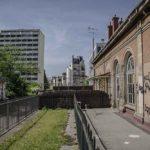 la gare de Vaugirard avant travaux par J barret