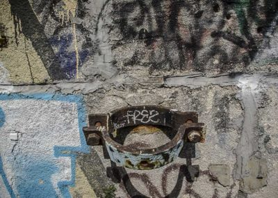 mur de la petite ceinture par J Barret