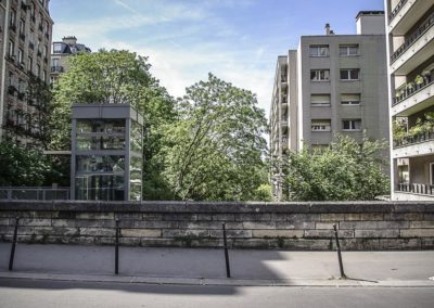 pont rue Olivier de Serres par J Barret
