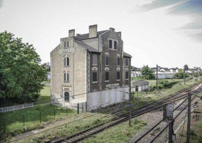 Ancienne gare de déportation de Bobigny par J. Barret-2