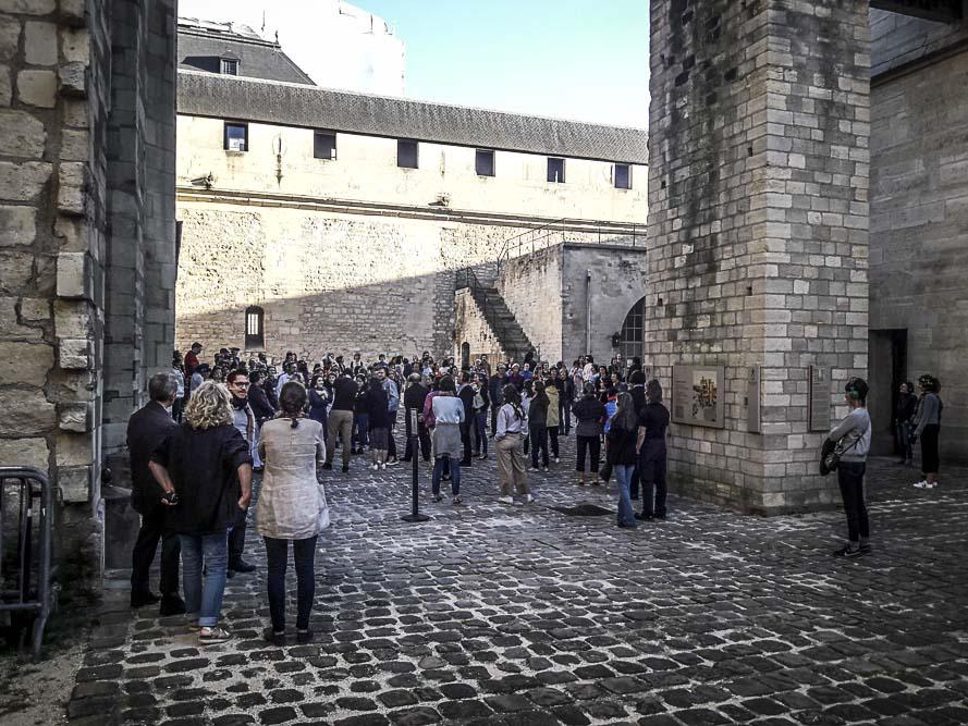 Performance Turbulence de Tatiana Julien au château de Vincennes le 22 juin 2018 par J.Barret-13