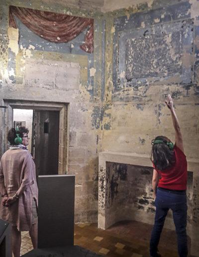 Performance Turbulence de Tatiana Julien au château de Vincennes le 22 juin 2018 par J.Barret-18