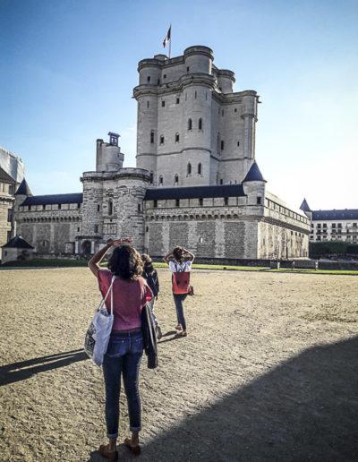 Performance Turbulence de Tatiana Julien au château de Vincennes le 22 juin 2018 par J.Barret-6