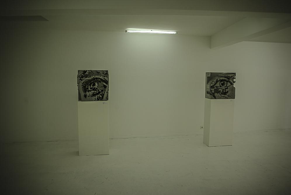 VHILS, exposition Solo Show à la galerie Magda Daniscz par J. Barret-9