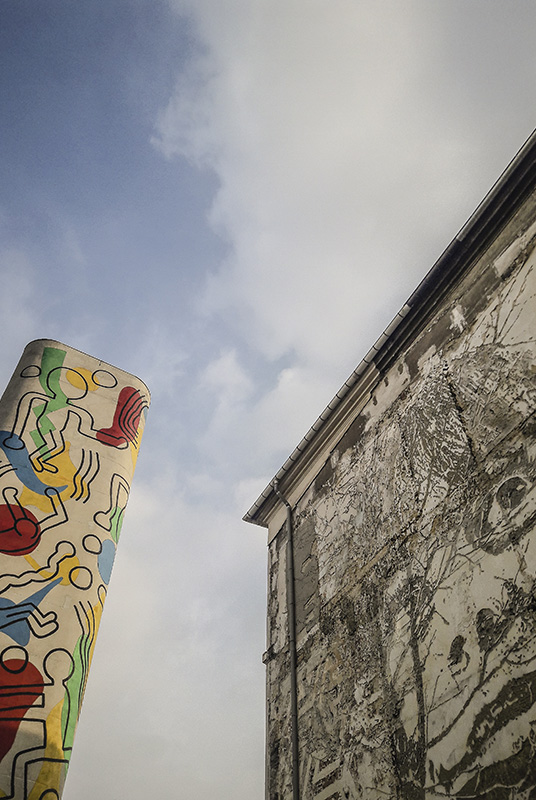 Vhils et Keith Haring par Julien Barret