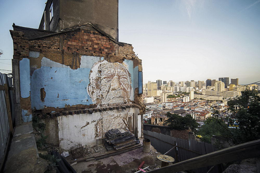 Vhils 2012, Rio de Janeiro, Brazil, par João Pedro Moreira
