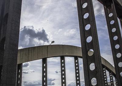 Vue du pont de l'avenue Jean Jaurès à Drancy par J.Barret-11