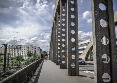 Vue du pont de l'avenue Jean Jaurès à Drancy par J.Barret-21