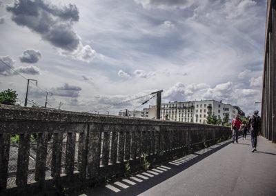 Vue du pont de l'avenue Jean Jaurès à Drancy par J.Barret-27