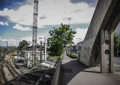 Vue du pont de l'avenue Jean Jaurès à Drancy par J.Barret-8
