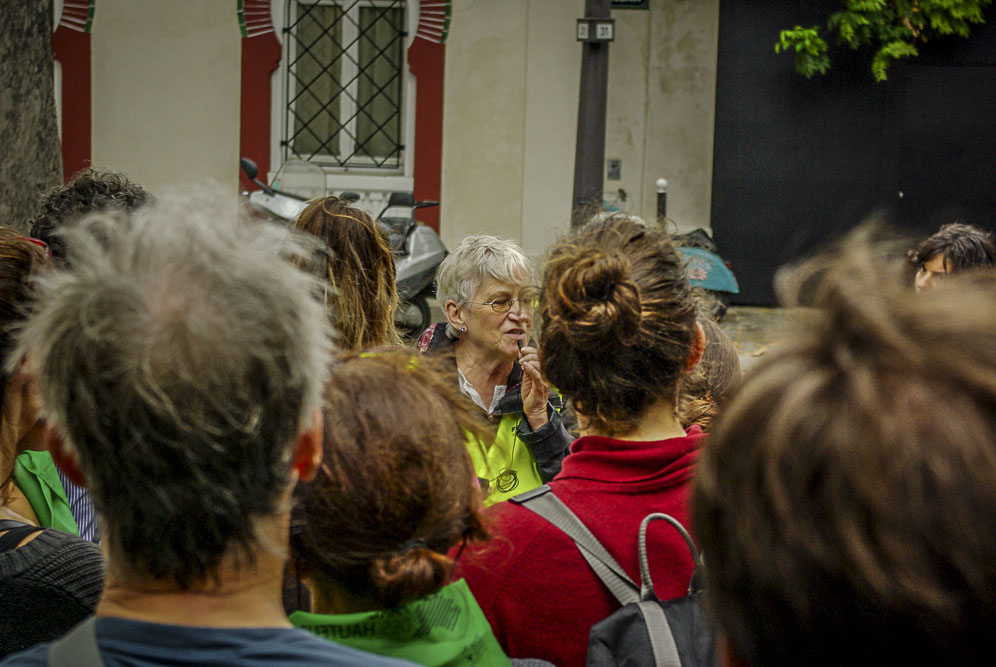 Frédérique Bonnelie du CDRP évoque la Mouzaia ©J.Barret