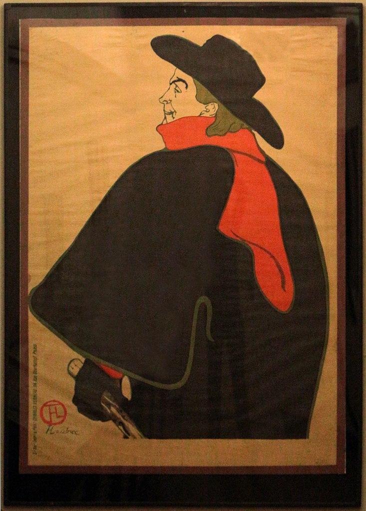 Henri de Toulouse-Lautrec, Bruant au Mirliton, 1894