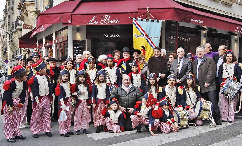Photo prise lors du Noël des P'tits Poulbots © Frédéric Loup
