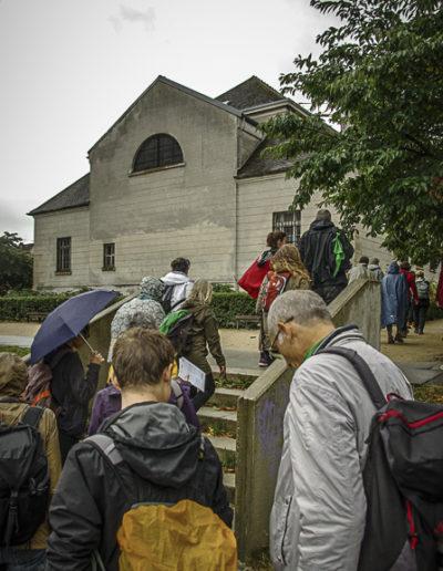devant l'église St Germain L'Auxerrois de Romainville ©J.Barret