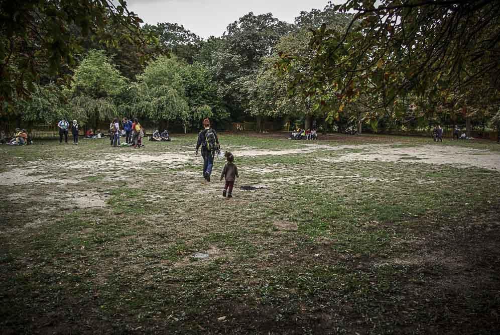 pic nique avant l'averse au parc de Romainville ©J.Barret