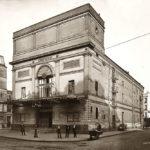 Carte postale de l'ancien théâtre de Grenelle vers 1900 (©coll. SHA XV)