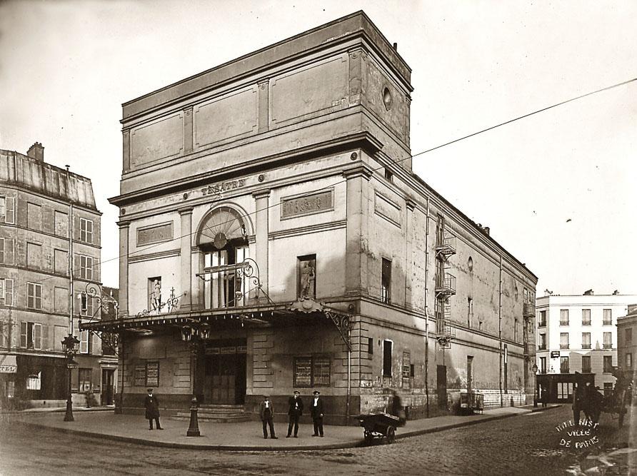 De l'ancien théâtre de Grenelle au HBM art déco
