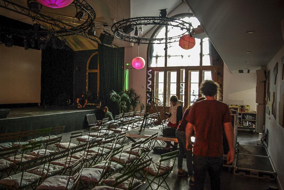 la salle de concert du Hasard ludique par J Barret