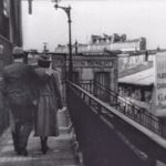 Image extraite du film Jenny de Marcel Carné en 1936, avec vue du Chateau Tremblant depuis le pont de la Petite Ceinture