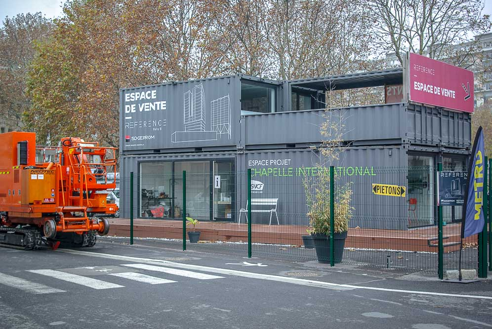 Espace de vente Sogeprom sur la ZAC Chapelle International par J Barret (2)