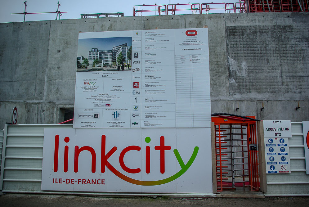 Projet Linkcity sur la ZAC Chapelle International par J Barret