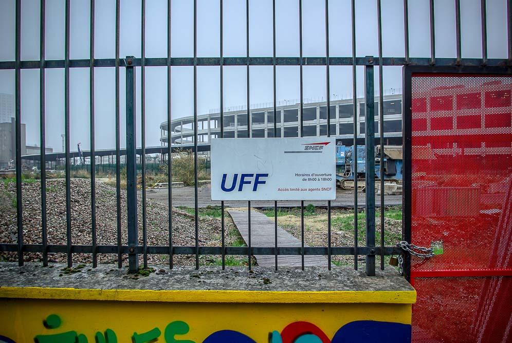 site de l'UFF sur le futur secteur Chapelle Charbon par J Barret
