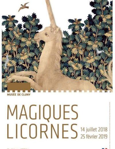 Exposition magiques Licornes au musée de Cluny