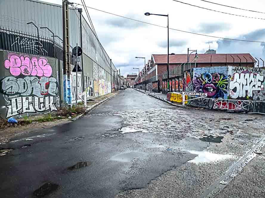 Dérive en territoire situationniste organisée le 26 janvier 2019 par Anne-Marie Morice et Les Promenades urbaines-13