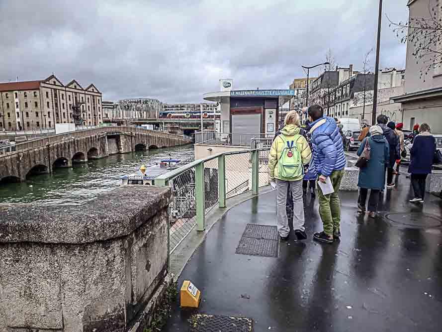 Dérive en territoire situationniste organisée le 26 janvier 2019 par Anne-Marie Morice et Les Promenades urbaines-3
