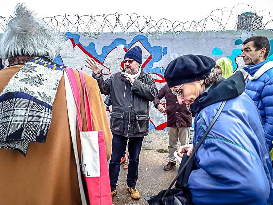 Dérive en territoire situationniste organisée le 26 janvier 2019 par Anne-Marie Morice et Les Promenades urbaines-5