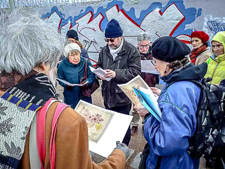 Dérive en territoire situationniste organisée le 26 janvier 2019 par Anne-Marie Morice et Les Promenades urbaines-21