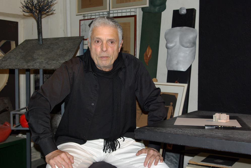 JP Réti dans son atelier par JBarret