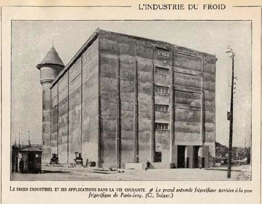 Les Frigos dans les années 20 @Archive Les Frigos 4